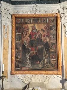 Madonna del Rosario Valestra