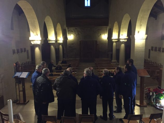 Coro Vocilassù nella chiesa di Marola